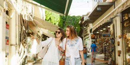 Athen er perfekt for dem, der elsker at shoppe