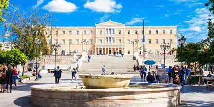 Syntagmatorvet i Athen, Grækenland.
