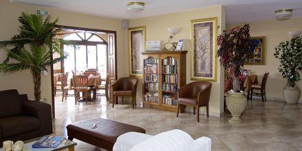Lobby på Hotel Athena på Samos, Grækenland.