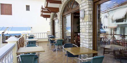Restaurant på Hotel Athena på Samos, Grækenland.