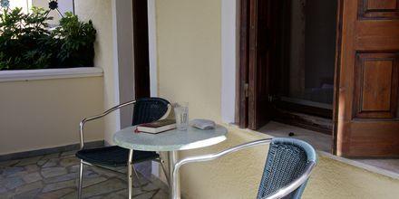 Dobbeltværelse på Hotel Athena på Samos, Grækenland.