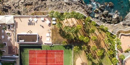 Tennis og terrasse på Hotel Atlantic Holiday Center, Tenerife, De Kanariske Øer.