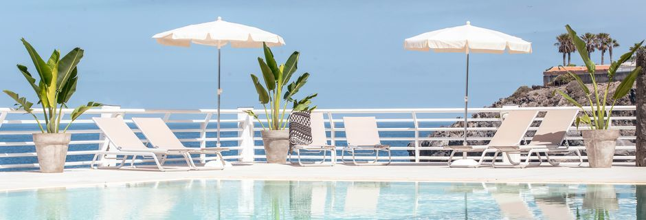Poolområde på Hotel Atlantic Holiday Center, Tenerife, De Kanariske Øer.