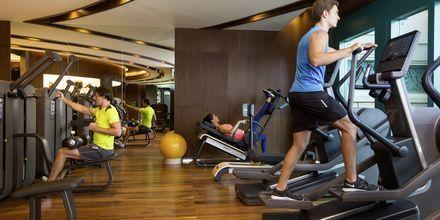 Fitnessfaciliteter på Hotel Atlantis The Palm i Dubai, De Forenede Arabiske Emirater.
