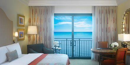 Deluxe-værelse på Atlantis The Palm i Dubai.