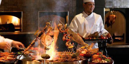Restauranten på Hotel Atlantis The Palm i Dubai, De Forenede Arabiske Emirater.