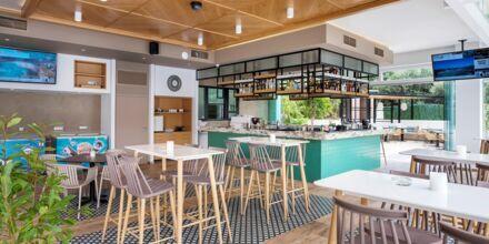 Poolbar på hotel Atrion på Kreta, Grækenland