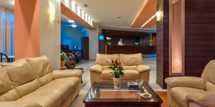 Lobby på hotel Atrion på Kreta, Grækenland
