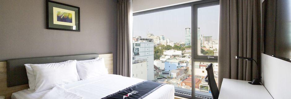 Dobbeltværelser på Avanti i Saigon