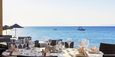 Restaurant på Avra Beach i Ixia på Rhodos.