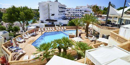 Poolområde på Hotel Azul Playa på Mallorca.