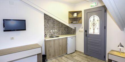 2-værelses lejlighed på Hotel Bacoli i Parga, Grækenland.
