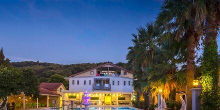 Hotel Bacoli i Parga, Grækenland.