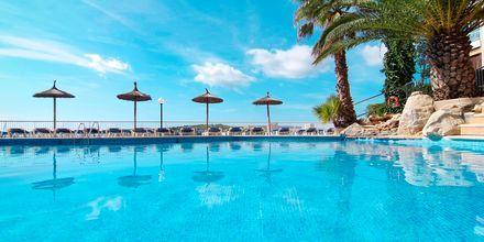 Poolområdet på Hotel Bahia Principe Coral Playa på Mallorca, Spanien