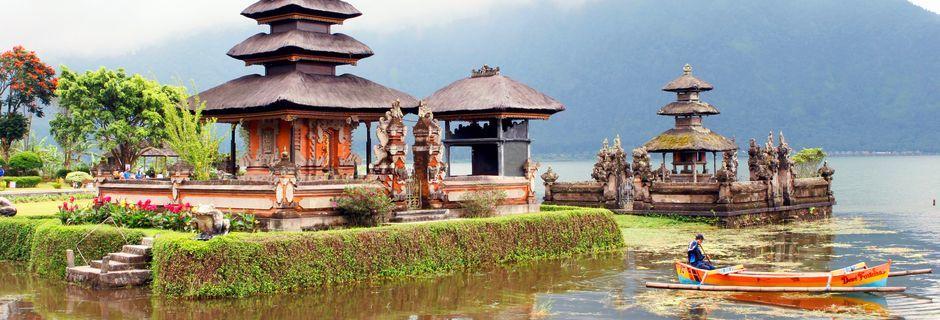 Vandtemplet i Pura Butan.