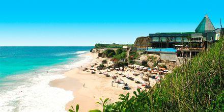 Strand på Bali.