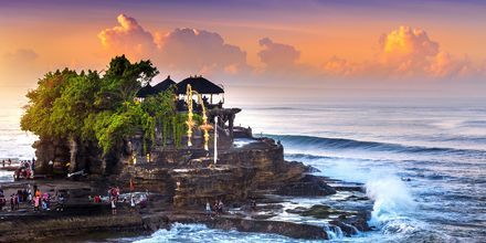 Templet Tanah Lot på Bali.