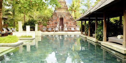 Spa på Bali Garden Beach Resort i Kuta, Bali.