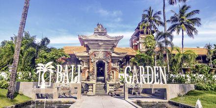 Bali Garden Beach Resort i Kuta, Bali.