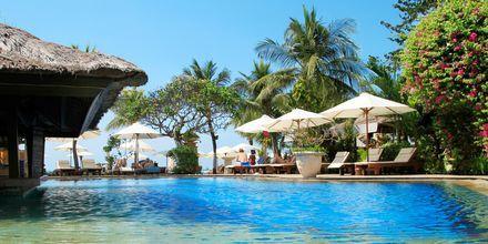 Poolen på Bali Reef Resort i Tanjung, Benoa, Bali.