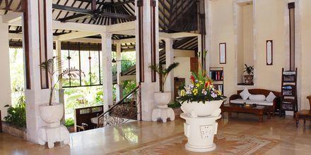 Lobbyen på Bali Reef Resort i Tanjung, Benoa, Bali.