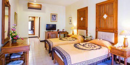 Deluxeværelse i bungalow på Bali Reef Resort i Tanjung, Benoa, Bali.