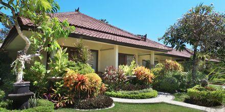 Bungalow på Bali Reef Resort i Tanjung, Benoa, Bali.