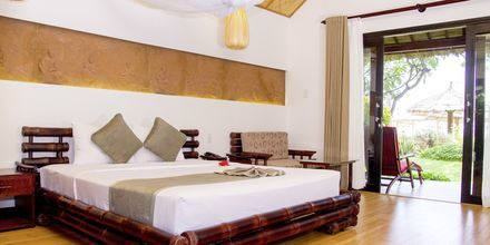 Bungalow Seafront-værelse på Bamboo Village Resort, Vietnam.