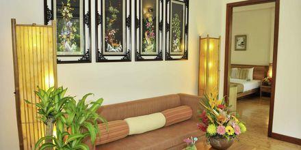 Deluxe-værelse i bungalow på Bamboo Village Resort, Vietnam.