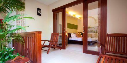 Deluxe-værelse plus på Hotel Bamboo Village Resort i Vietnam.