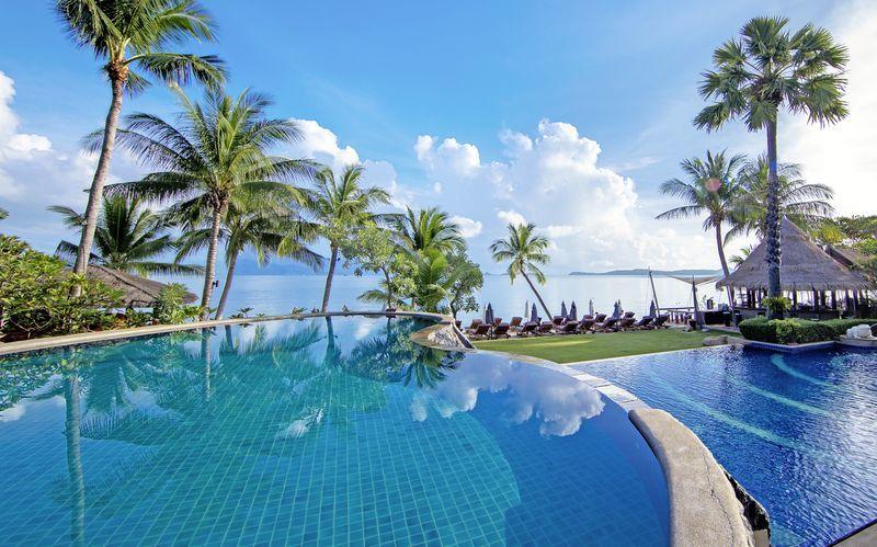 Pool på Hotel Bandara Resort and Spa på Koh Samui, Thailand.