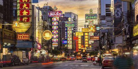 China Town i Bangkok, Thailand.