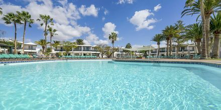 Poolen på Hotel Barcarola Club på Lanzarote.