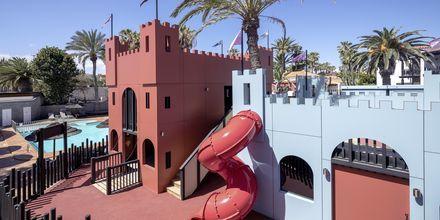 Legeplads på Hotel Barcelo Castillo Beach Resort på Fuerteventura, De Kanariske Øer, Spanien.
