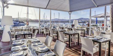 Restaurant på Hotel Barcelo Castillo Beach Resort på Fuerteventura, De Kanariske Øer, Spanien.