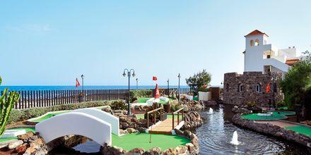 Minigolfbane på Hotel Barcelo Castillo Beach Resort på Fuerteventura, De Kanariske Øer, Spanien.