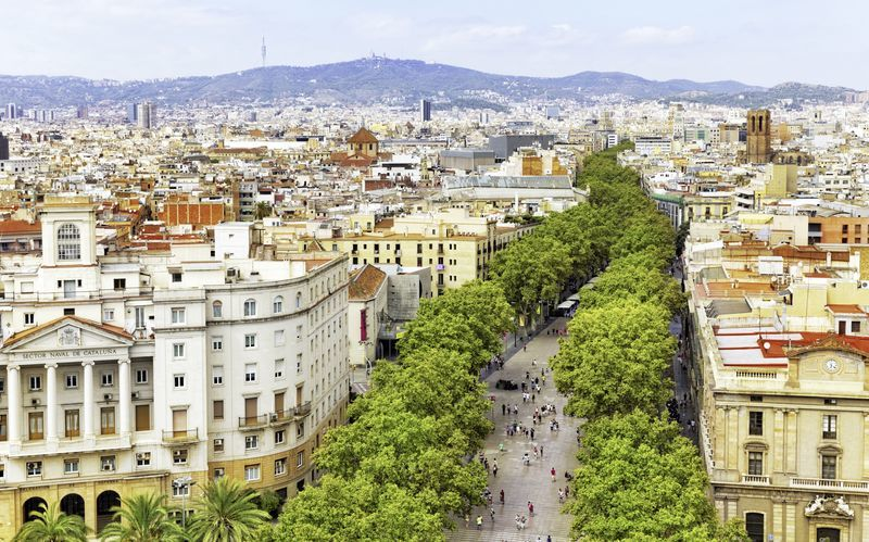 rejser til barcelona i efterårsferien
