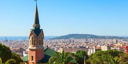 Udsigt over Gaudí House Museum