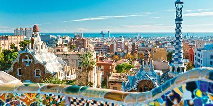 Gaudís Barcelona, Spanien.