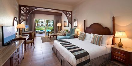 Deluxe-suite på Hotel Baron Palace Resort i Sahl Hasheesh, Egypten.