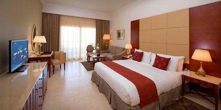 Dobbeltværelse på Hotel Baron Palace Resort i Sahl Hasheesh, Egypten.