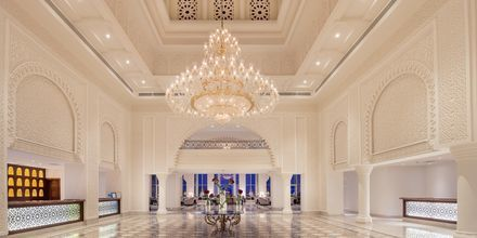 Lobby på Hotel Baron Palace Resort i Sahl Hasheesh, Egypten.