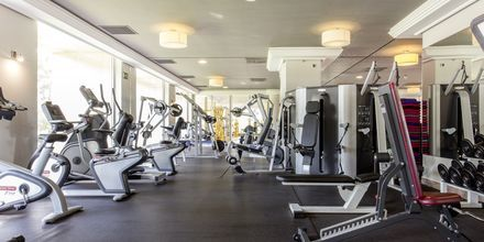 Fitnessrum på Hotel Be Live Collection Palace de Muro, Mallorca, Spanien.