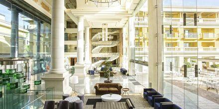 Lobby på Hotel Be Live Collection Palace de Muro, Mallorca, Spanien.