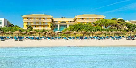 Stranden ved Hotel Be Live Collection Palace de Muro, Mallorca, Spanien.