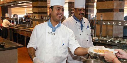 Den italienske restaurant Alfredo på Hotel Beach Albatros Resort i Hurghada, Egypten