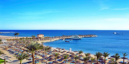 Stranden ved Hotel Beach Albatros Resort i Hurghada, Egypten
