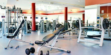 Fitness-faciliteter på Hotel Beach Rotana Abu Dhabi, De Forenede Arabiske Emirater.