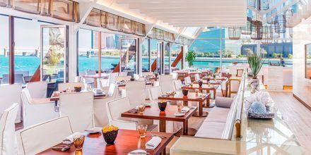 Restaurant på Hotel Beach Rotana Abu Dhabi, De Forenede Arabiske Emirater.