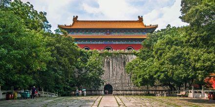Min Xiaoling Mausoleum, er et gravsted for Zhu Yuanzhang, den første Ming-kejser.